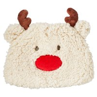 Waitrose NOVELTY FLEECE REINDEER HAT 12-1
