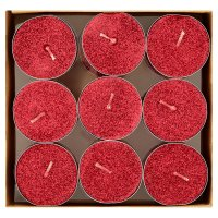 Waitrose Festive Spice red tealights