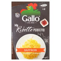 Riso Gallo risotto pronto saffron