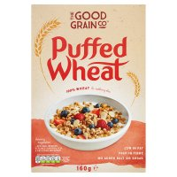 The Good Grain Co puffed wheat