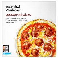 essential Waitrose pepperoni pizza