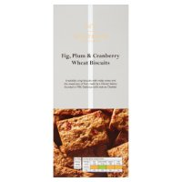 Waitrose 1 fig, plum & cranberry wheat biscuits