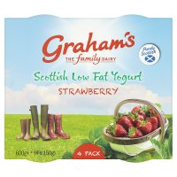 Graham's Strawberry Yogurt