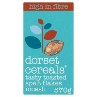 Dorset Cereals tasty toasted spelt fruit and nut