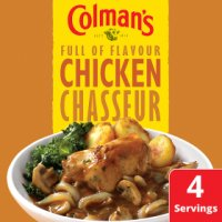 Colman's chicken chasseur recipe mix