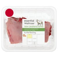 essential Waitrose New Zealand butterflied leg of lamb