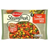 Birds Eye 4 steamfresh super sunshine vegetable mix frozen
