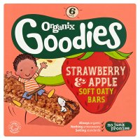 Goodies strawberry oaty bars