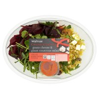 Waitrose goats cheese & giant couscous salad