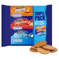 McVitie's hobnobs, digestives & rich tea biscuits