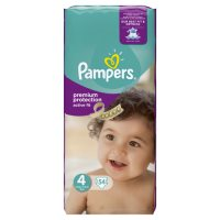 Pampers Active Fit Sz 4 Large 54 Nappies