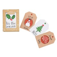 Waitrose Christmas Mini Cube Cards