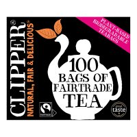 Clipper Fairtrade 100 Everyday Tea
