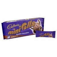 Cadbury double chocolate mini rolls