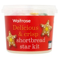 Waitrose shortbread star kit