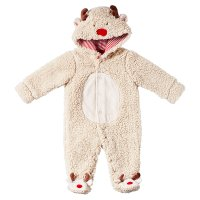 Waitrose CHRISTMAS REINDEER FLEECE AIO 3-