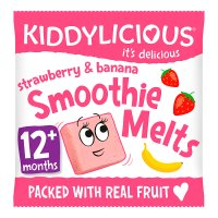 Kiddylicious Melts Strawberry & Banana.