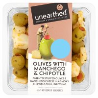 Unearthed Olives with Chipotle & Manchego