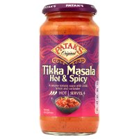Patak's hot & spicy tikka masala