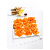 Waitrose smoked salmon platter