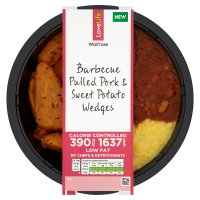 Waitrose LoveLife Barbecue Pulled & Sweet Potato Wedges