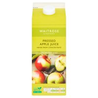 Waitrose pressed apple juice