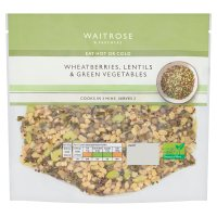 Waitrose Wheatberries, Lentil & Green Veg