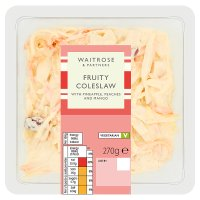 Waitrose Fruity Coleslaw