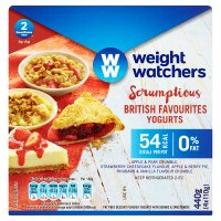 Weight Watchers fat free yogurts British favourites dessert recipe yogurt