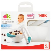 by NUK food masher & bowl
