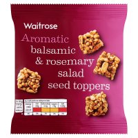 Waitrose Balsamic & Rosemary Salad Seed Toppers