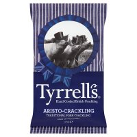 Tyrrells traditional pork crackling