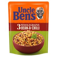 Uncle Ben's Rice & Grains 3 Bean & Chilli