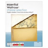 essential Waitrose cheese selection pack