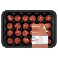 Waitrose 24 Hereford beef meatballs