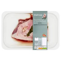 Waitrose Boneless Leg of New Zealand Lamb