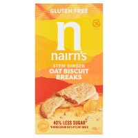 Nairn's Oat & Ginger Biscuit Breaks