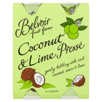 Belvoir fruit farms coconut & lime pressé