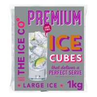 The Ice Co° Blue Keld ice cubes