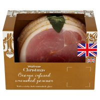 Waitrose orange infused unsmoked gammon