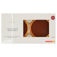Waitrose 1 2 Salted Caramel & Chocolate Tarts