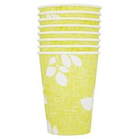 Alfresco leaf paper cups