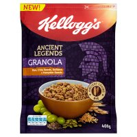 Kellogg's Ancient Legends Granola Rye, Chia & Pumpkin