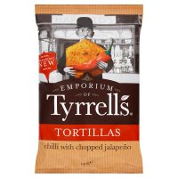 Tyrrells Tortillas Chilli Chopped Jalapeño