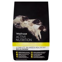 Waitrose active nutrition senior rich in chicken