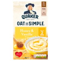 Quaker Oat So Simple honey & vanilla porridge 10S