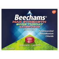 Beechams Throat Blackberry Lozenges