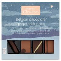 Waitrose Christmas Belgian Chocolate Ginger Taster Box
