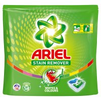 Ariel Stain Remover Whites & Colours 3D Boosters 14ct