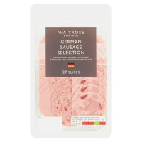 Waitrose German Sausage Selection 30 slices
